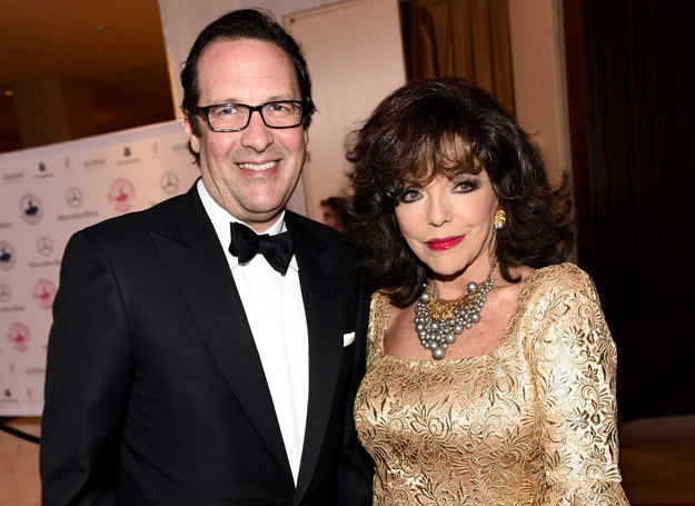 Joan Collins i Percy Gibson /Getty Images