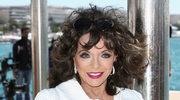 Joan Collins nie rozstaje się z wiekowymi walizkami