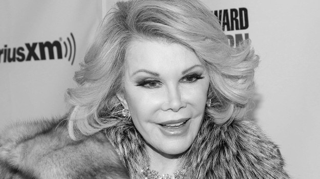 Joan Rivers 8.06.1933-4.09.2014 /Rob Kim /Getty Images