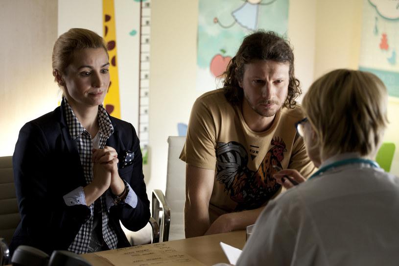 Joanna Brodzik i Wojciech Solarz /x-news/ Marcin Makowski /TVN