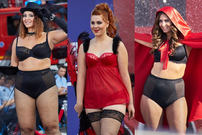 Joanna Cesarz, Katarzyna Bochenkiewicz i Zuzanna Zakrzewska - one powalczą o tytuł Supermodelki Plus Size /Krystian Szczęsny /Polsat