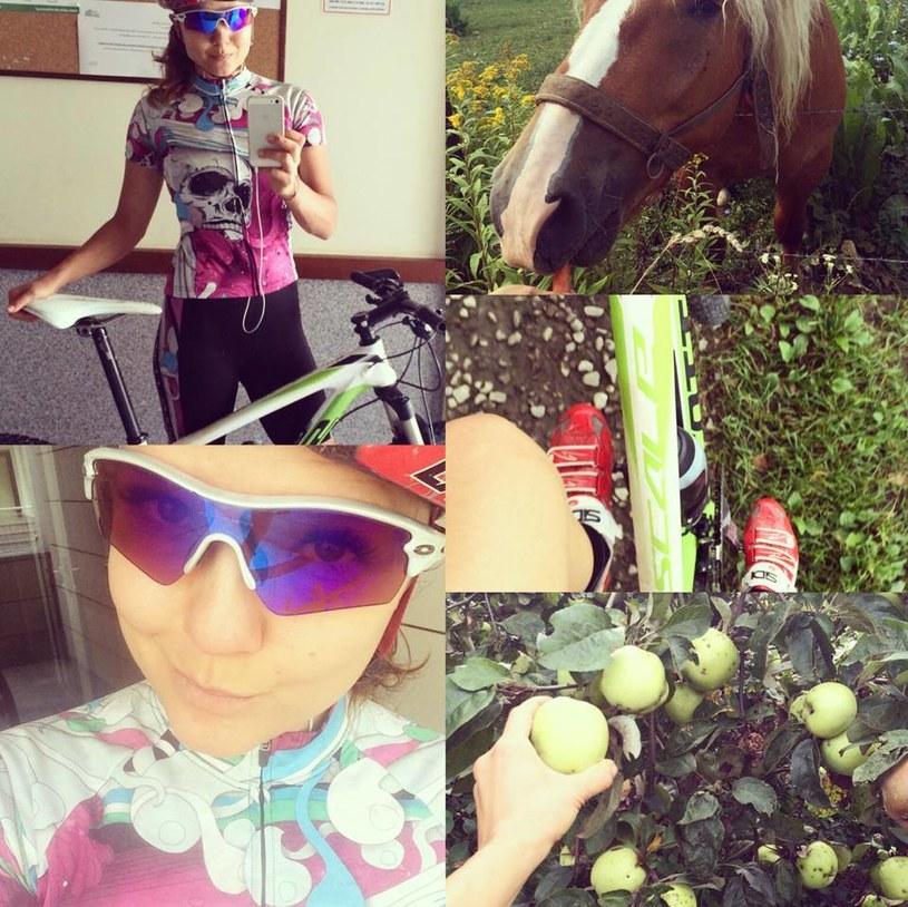 Joanna Jabłczyńska swoimi relacjami z treningów dzieli się z fanami na Facebooku. /Facebook /internet