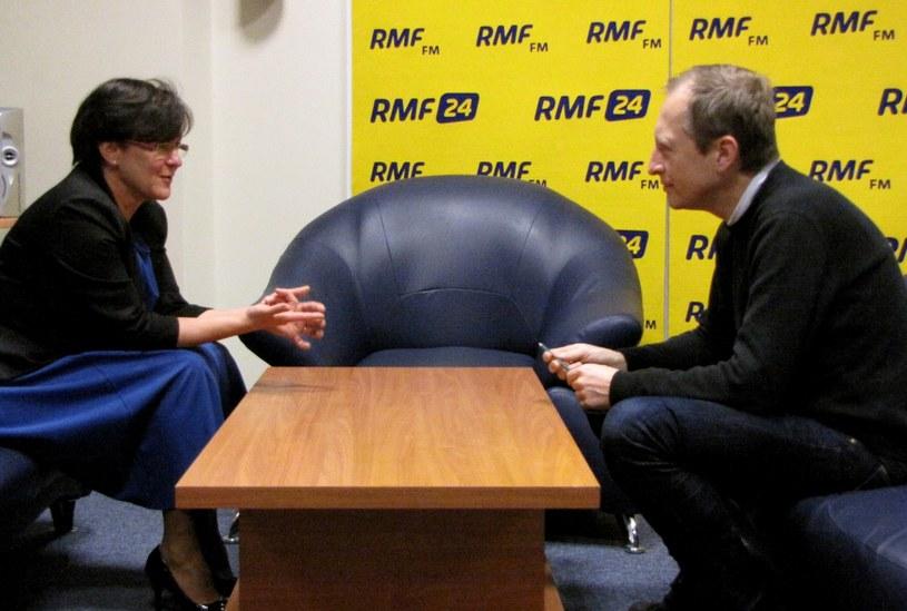 Joanna Kluzik-Rostkowska była gościem Kontrwywiadu RMF FM. /Olga Wasilewska /RMF24