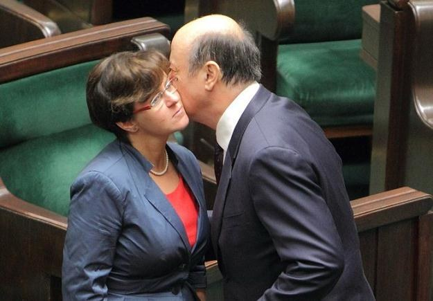 Joanna Kluzik-Rostkowska i Jacek Rostowski, fot. J. Kucharzyk /East News
