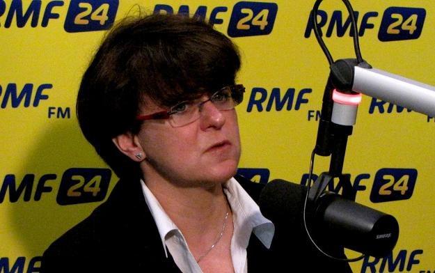 Joanna Kluzik-Rostkowska /RMF