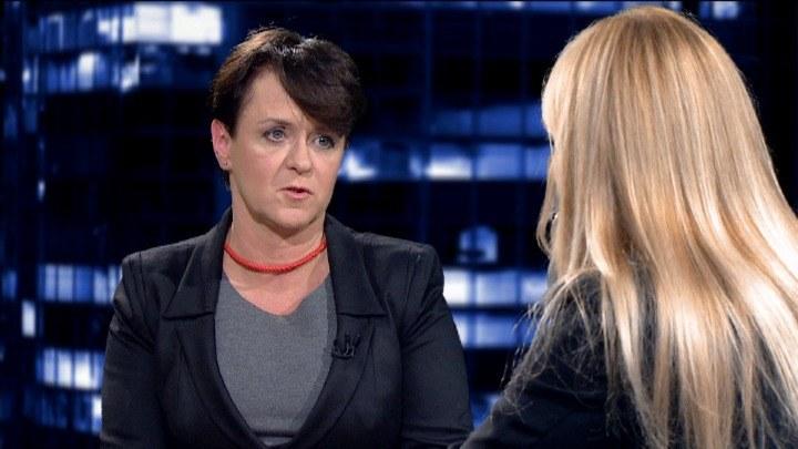 Joanna Kluzik-Rostkowska /TVN24/x-news /TVN24/x-news