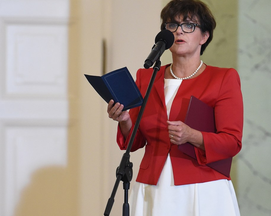 Joanna Kluzik-Rostkowska /Radek Pietruszka /PAP