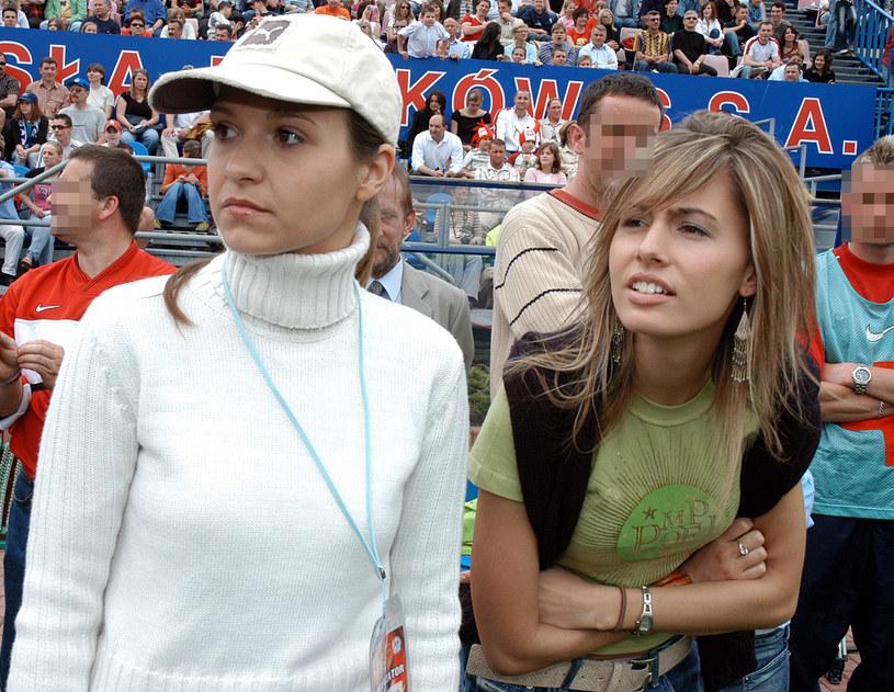 Joanna Koroniewska i Agnieszka Hyży, 2005 rok /Zawada /AKPA
