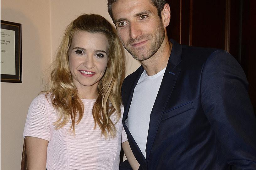 Joanna Koroniewska z mężem /MWMedia