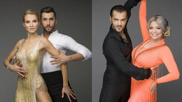 Joanna Moro (L) zatańczyła najlepiej, Viola Arlak (P) odpadła z programu /Polsat