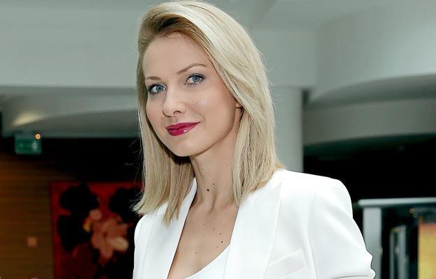 """Joanna Moro na pokazie prasowym serialu """"Talianka"""" /AKPA"""