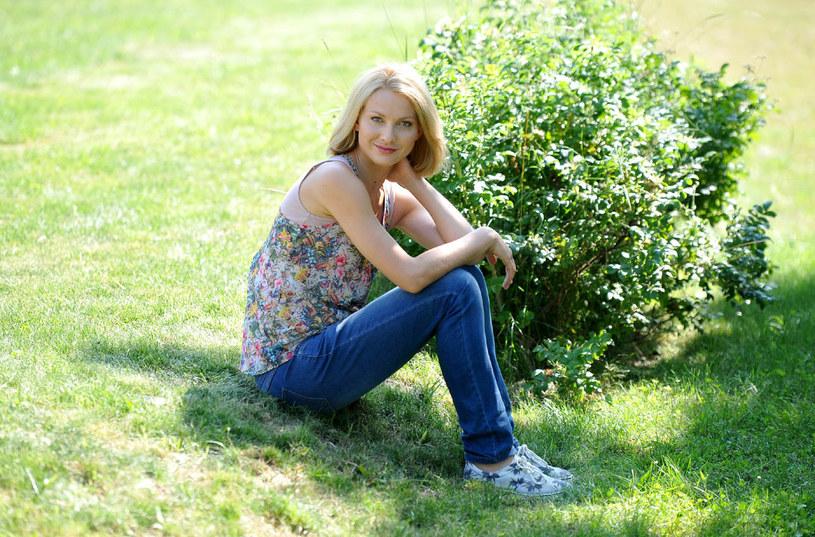 """Joanna Moro w serialu """"Blondynka"""" /Agencja W. Impact"""