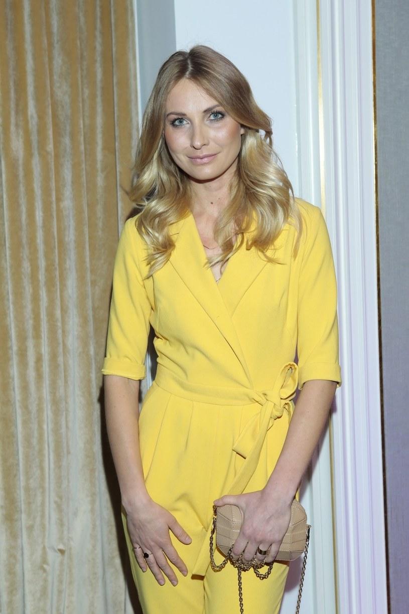 Joanna Moro wybrała modny kombinezon /Adam Jankowski/REPORTER /Reporter
