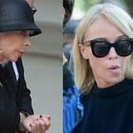 Joanna Przetakiewicz na pogrzebie Kulczyka trzymana z dala od rodziny!