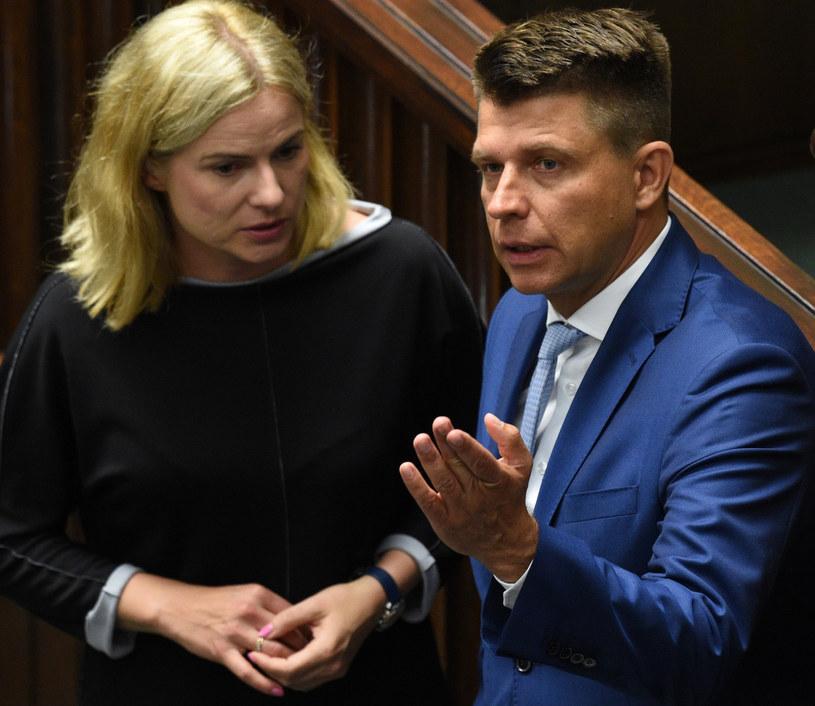 Joanna Schmidt i Ryszard Petru /Jacek Domiński /East News