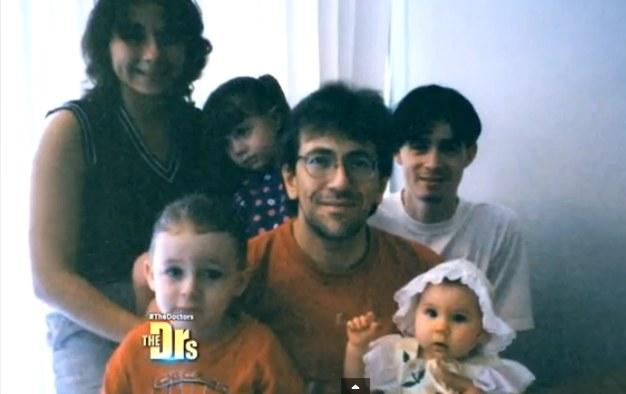 Joanne z rodziną przed laty. Źródło: Huffington Post /