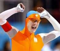 Jochem Uydtehaage nie tylko zdobył złoto, ale także pobił rekord świata /INTERIA.PL