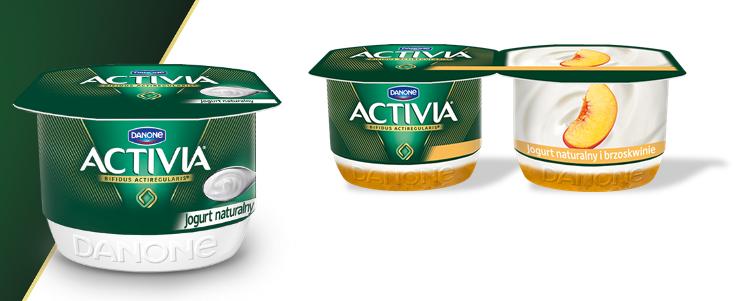 Jogurty Activia /materiały prasowe