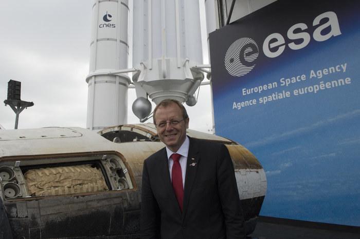 Johan Dietrich Woerner, nowy szef ESA /materiały prasowe