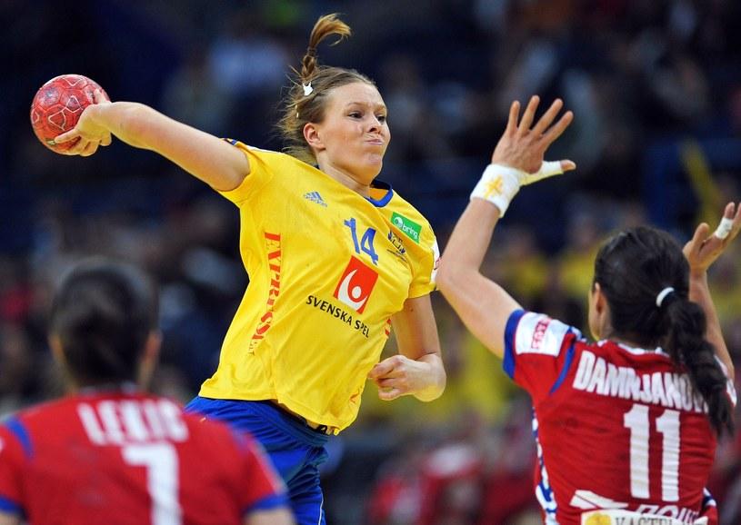 Johanna Westberg rzuciła najwięcej punktów dla rywalek /AFP