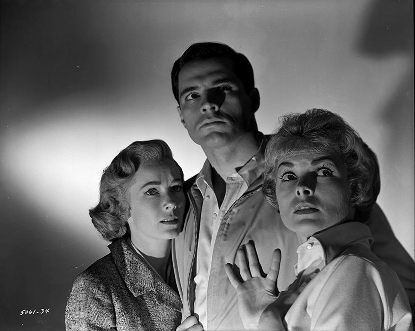 """John Gavin, Janet Leigh i Vera Miles w filmie """"Psychoza"""" (1960) /materiały prasowe"""