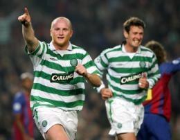 John Hartson strzelił dla Celtiku Glasgow 98 goli /AFP