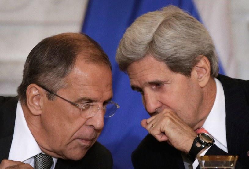 John Kerry i Siergiej Ławrow po raz kolejny rozmawiają o Ukrainie. /AFP
