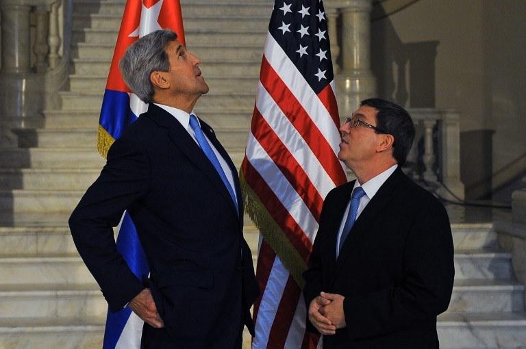 John Kerry na Kubie /AFP