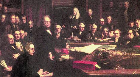 John Phillip's, Lord Palmerston w Izbie Gmin w 1860 /Encyklopedia Internautica