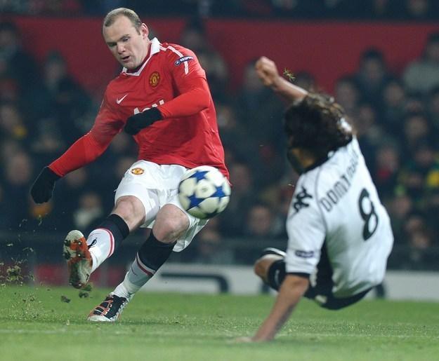 John Rooney nie ma talentu swojego starszego brata Wayne'a (na zdjęciu) /AFP