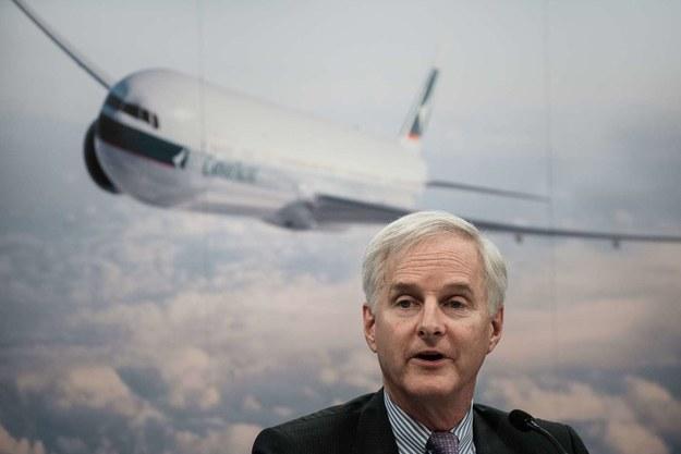 John Slosar, dyrektor Cathay Pacific /AFP