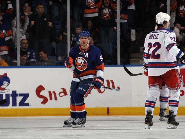 John Tavares z New York Islanders /AFP