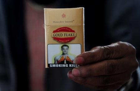 John Terry na paczce papierosów... w Indiach!