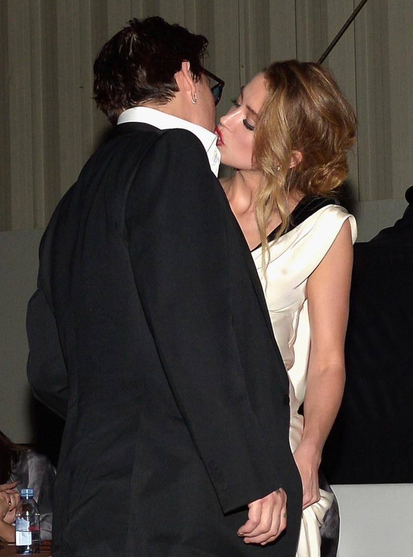 Johnny Depp i Amber Heard jeszcze jako para /Getty Images