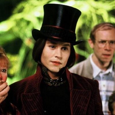 Johnny Depp jako Willy Wonka /AFP