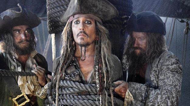 """Johnny Depp na planie piątej części """"Piratów z Karaibów"""" /materiały prasowe"""