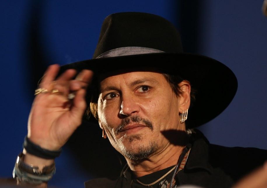 Johnny Depp /PAP/EPA/NIGEL RODDIS /PAP/EPA