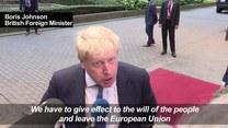 Johnson: Wielka Brytania nie zrezygnuje z wiodącej roli w Europie
