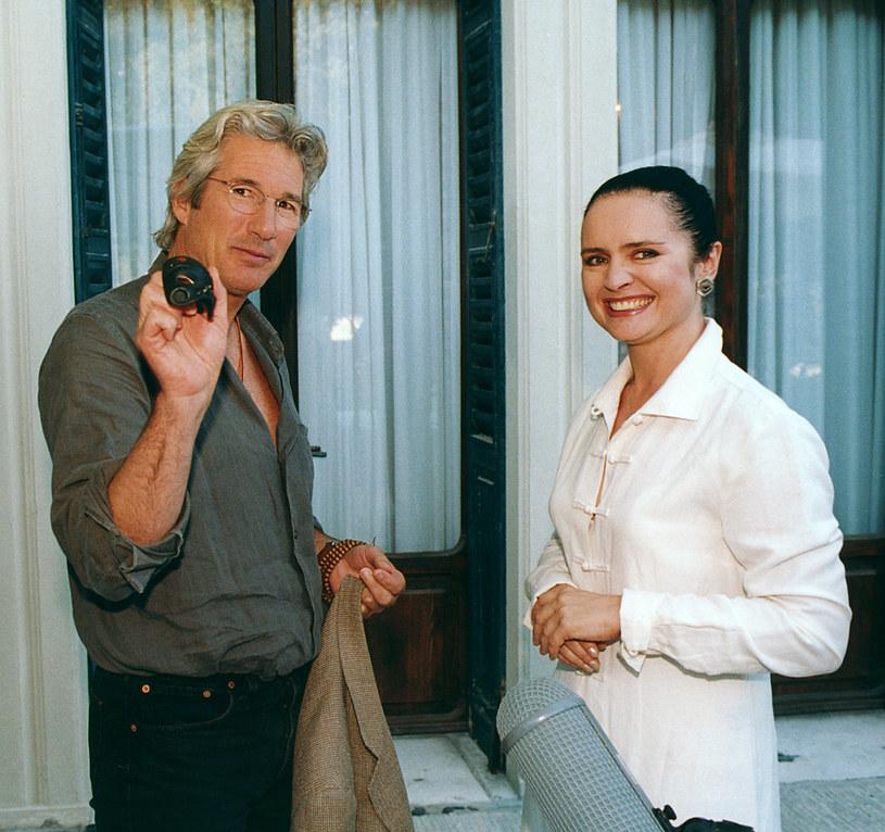 Jolanta Fajkowska w towarzystwie Richarda Gere'a /AKPA