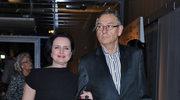 Jolanta Fajkowska z mężem