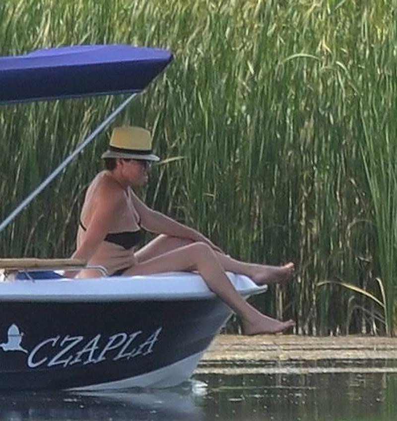 Jolanta Kwaśniewska wygląda świetnie! /BOGDAN HRYWNIAK/ /Newspix