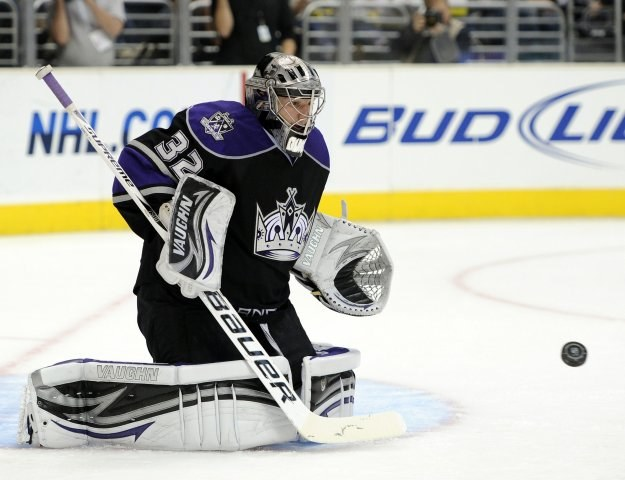 Jonathan Quick, bramkarz Los Angeles Kings /AFP