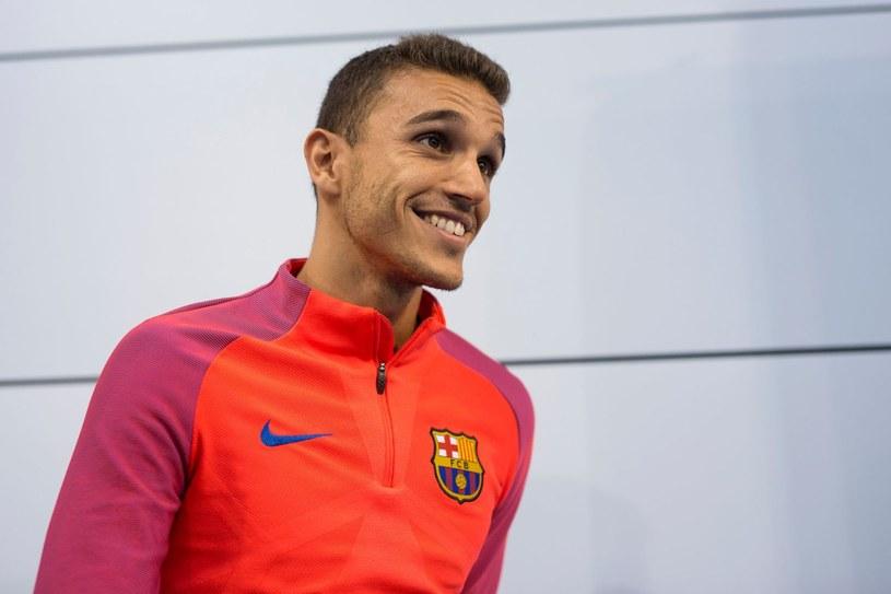 Jordi Masip przed treningiem Katalończyków /AFP