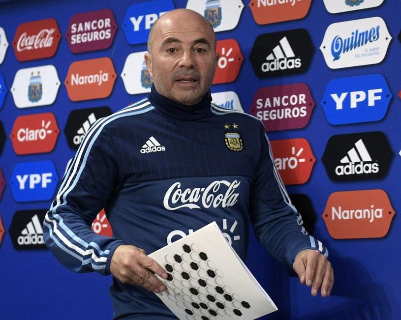 Jorge Sampaoli jest obecnie trenerem Argentyny /AFP