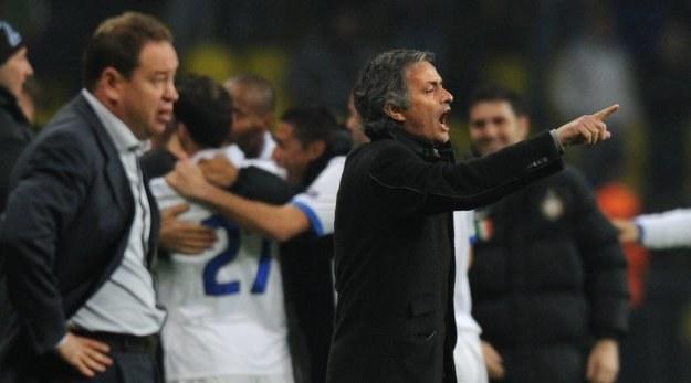 Jose Mourinho doprowadził Inter do półfinału Ligi Mistrzów /AFP