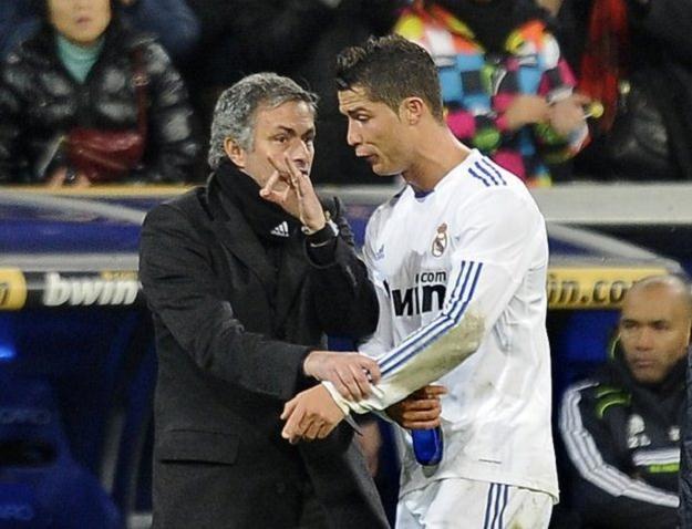 Jose Mourinho i Cristiano Ronaldo /AFP