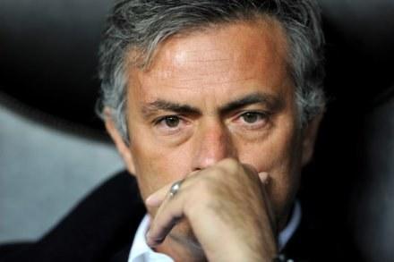 Jose Mourinho jest zaskoczony samobójstwem Roberta Enke /AFP