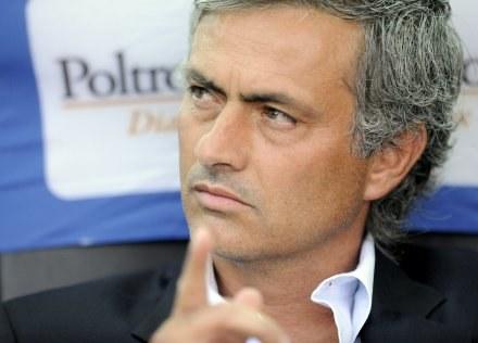 Jose Mourinho wie, że czeka go wiele pracy z zespołem Interu /AFP