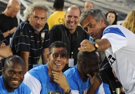 Jose Mourinho wskazał mistrza. Zdaniem szkoleniowca Interu będzie nim Manchester City /AFP
