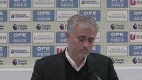 Jose Mourinho zły po porażce MU. Wideo